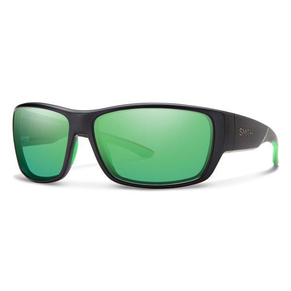 okulary smith forge matte black green mirror 20042700361Z9