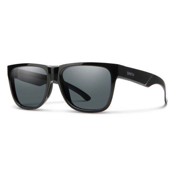 okulary smith lowdown 2 black polarized gray 20094180756M9