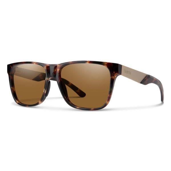 okulary smith lowdown steel dark tortoise chromapop polarized brown 201906EKP56L5