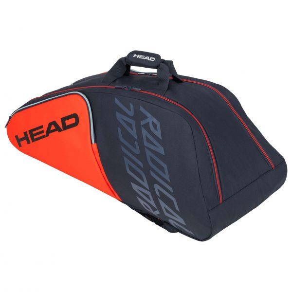 torba tenisowa head Radical 9R Supercombi orange grey