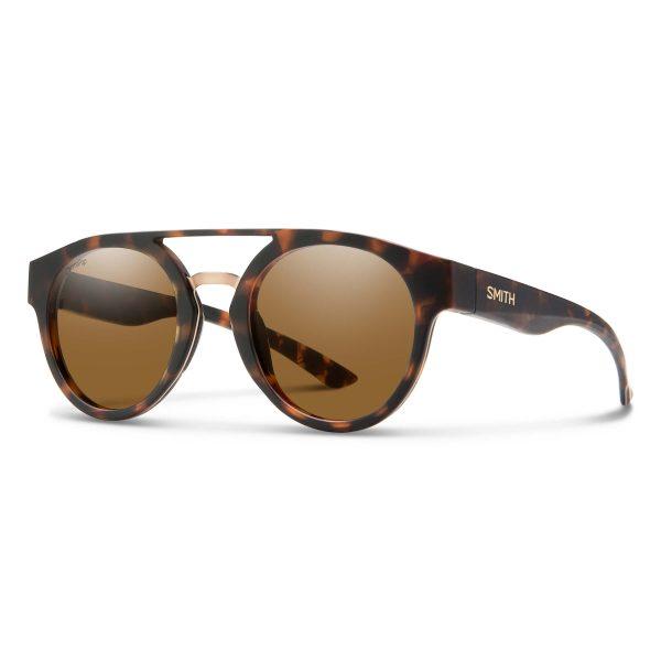 okulary smith range matte tortoise chromapop polarized brown 201270N9P50L5