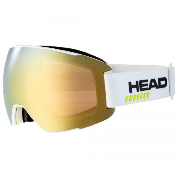 Gogle Head SENTINEL 5K gold white + Spare Lens 2022
