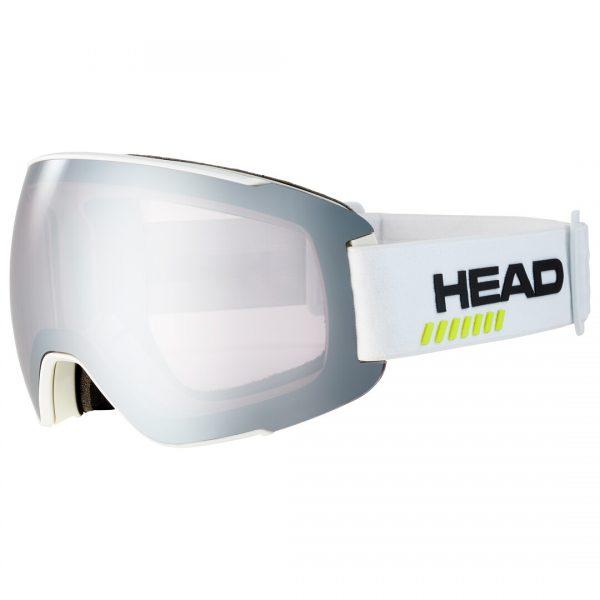 Gogle Head SENTINEL 5K chrome white + Spare Lens 2022