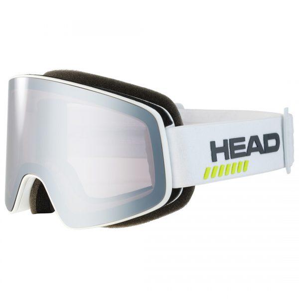 Gogle Head HORIZON 5K RACE chrome white + Spare Lens 2022
