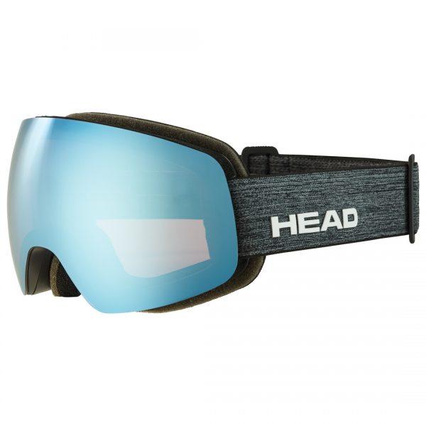 GogleHEAD GLOBE 5K blue melange + Spare Lens 2022