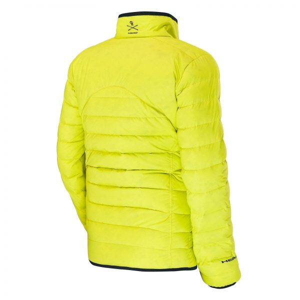 Kurtka męska HEAD RACE TEAM INSULATED JACKET Yellow 2018 roz L