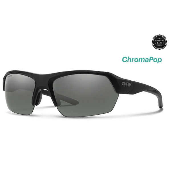Smith Tempo Matte Black Chromapop Polarized Platinium
