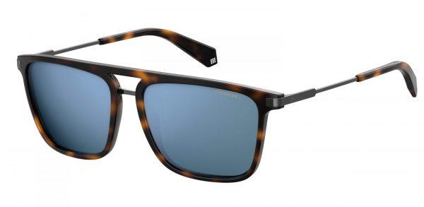 okulary polaroid pld 2060s havana blue