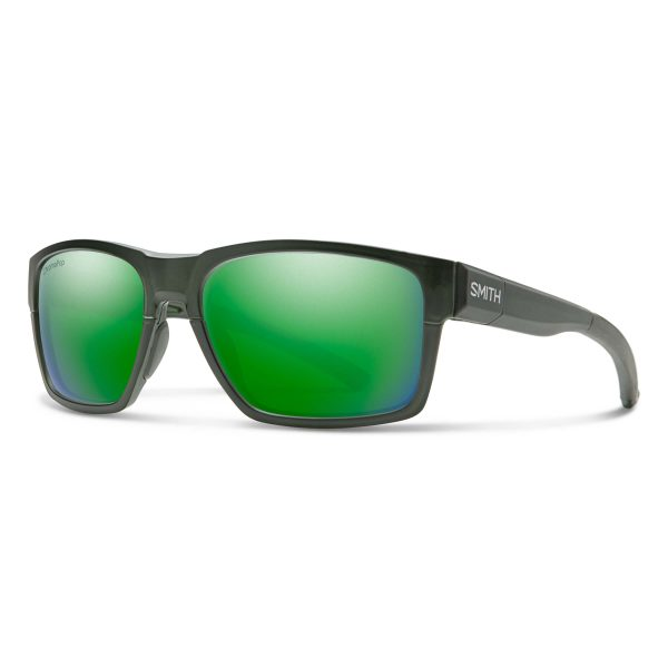 okulary smith caravan mag matte crystal elm green chromapop polarized green 202305DLD59UI