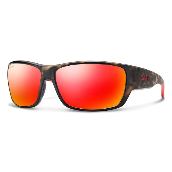 okulary smith forge matte camo polarized red mirror 2004272M661OZ