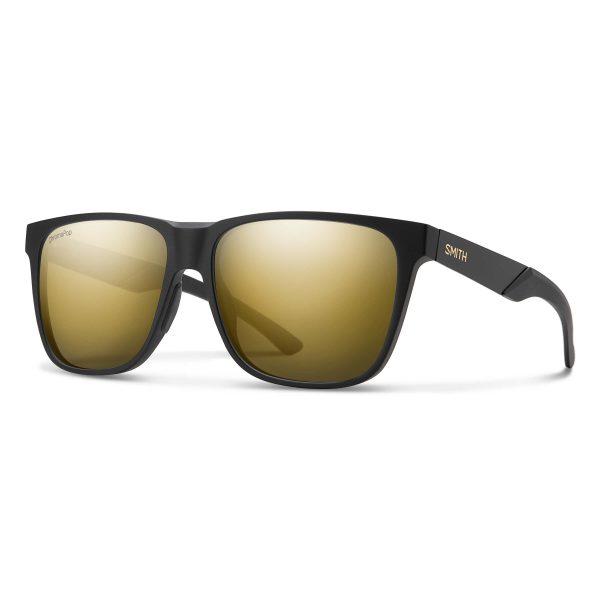 okulary smith lowdown steel xl matte black gold chromapop polarized black gold 2023010NZ59HN