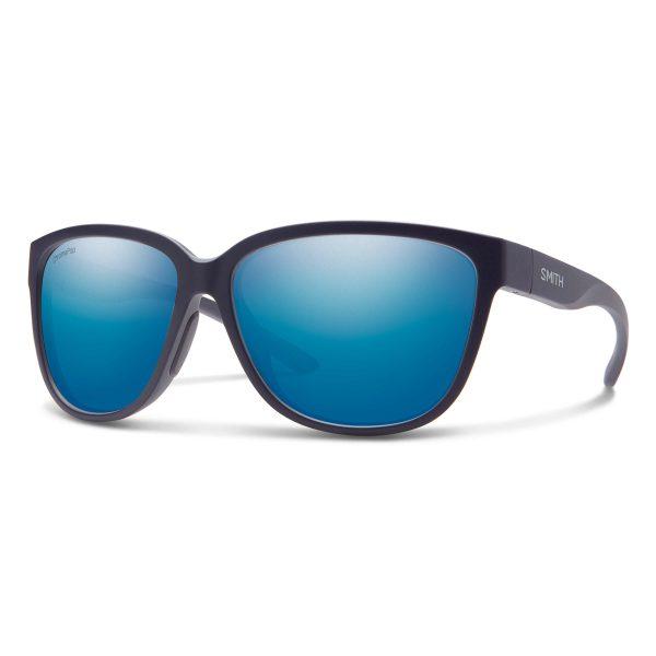 okulary smith montery matte midnight chromapop polarized blue mirror 2029861JZ58QG