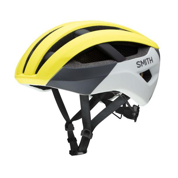 kask rowerowy smith network mips neon yellow viz