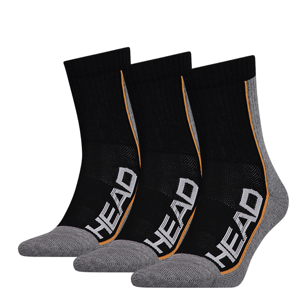 skarpety head socks tennis performance black