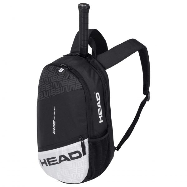 plecak tenisowy head Elite Backpack black white