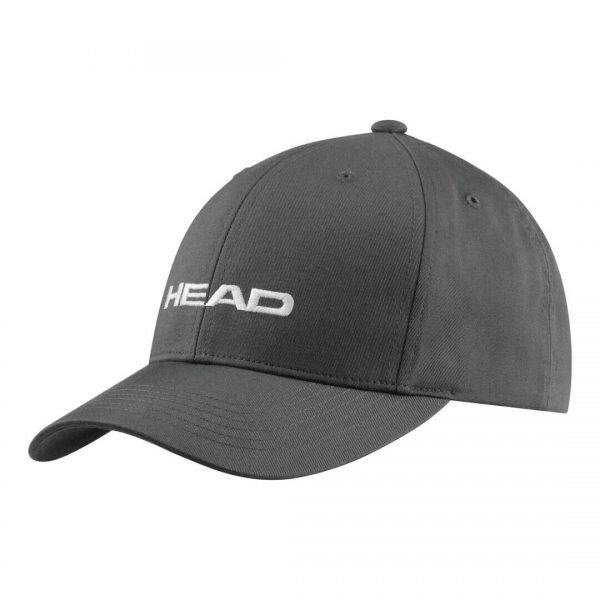 czapka z daszkiem head Promotion Cap Anthracite grey