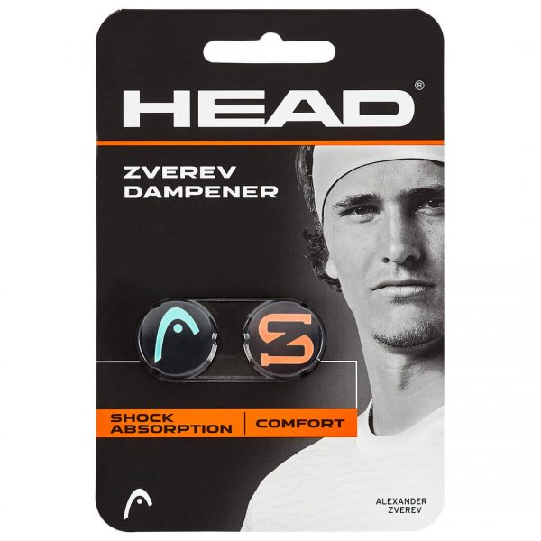 tlumik Head Zverev Dampener Teal Hot Lava
