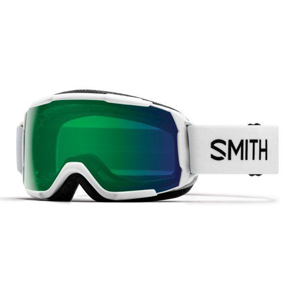 gogle smith grom white chromapop everyday green mirror 2021 GR6CPGWT19