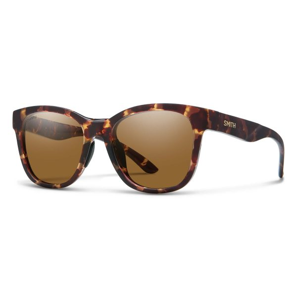 okulary smith caper matte tortoise brown