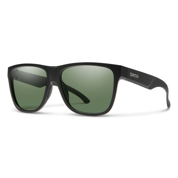 okulary smith lowdown xl2 matte black chromapo polarized gray green 20151400360L7