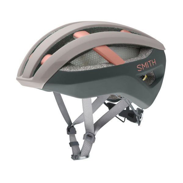SMITH Kask rowerowy NETWORK MIPS matte tusk peat moss