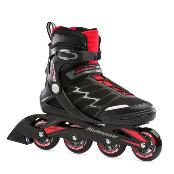 rolki bladerunner advantage pro xt black red