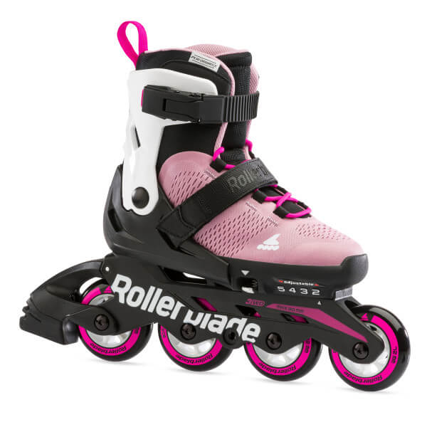 rolki rollerblade microblade g pink white