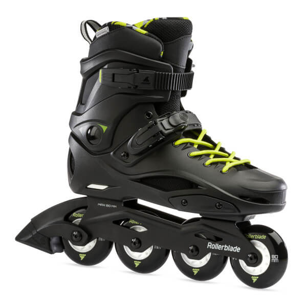 rolki rollerblade rb cruiser black neon yellow