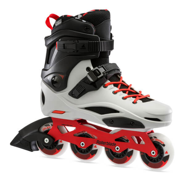 rolki rollerblade rb pro x grey warm red