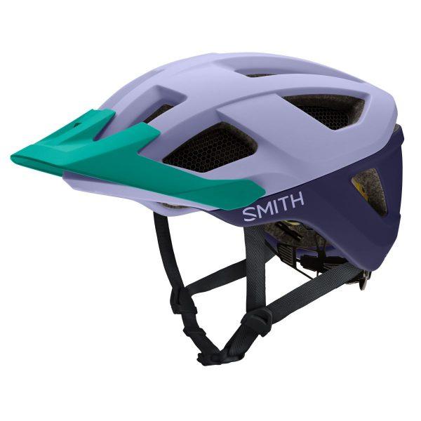 SMITH Kask rowerowy SESSION MIPS matte iris indigo jade