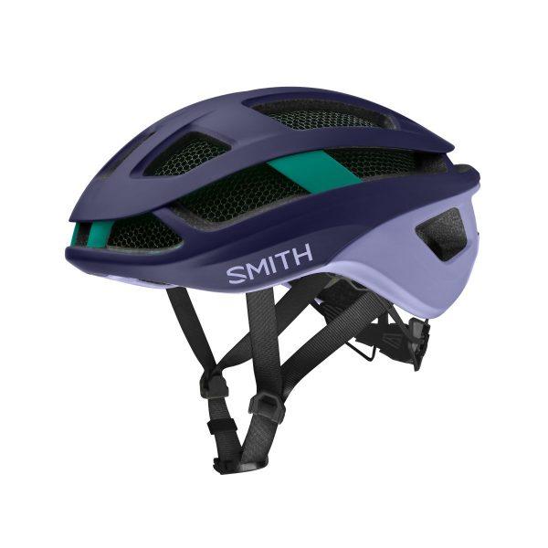 SMITH Kask rowerowy TRACE MIPS matte indigo iris jade