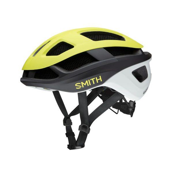 SMITH Kask rowerowy TRACE MIPS matte neon yellow viz