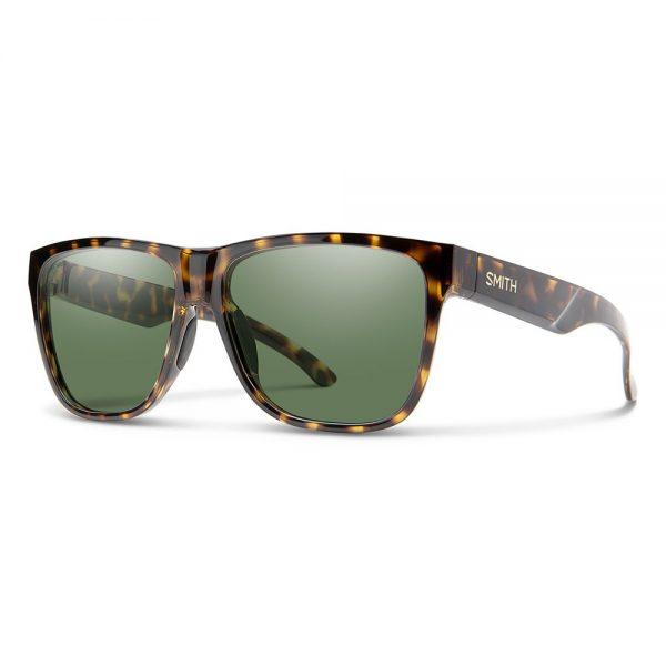 okulary smith LOWDOWN XL 2 VINTAGE TORT POLARIZED GRAY GREEN