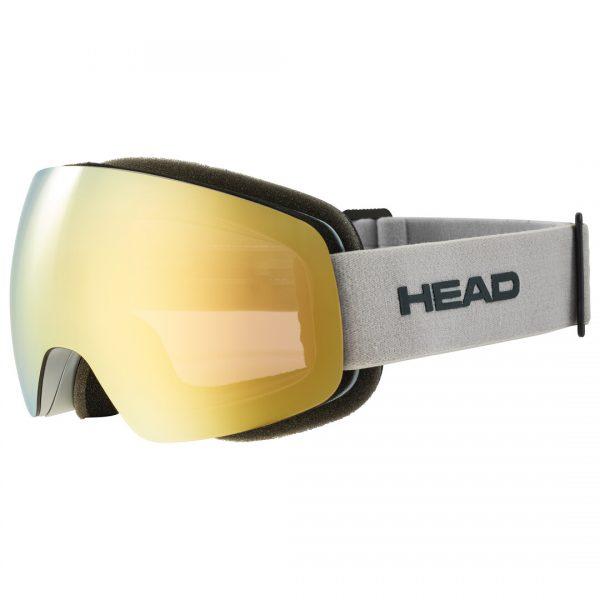 GogleHEAD GLOBE 5K gold grey + Spare Lens 2022