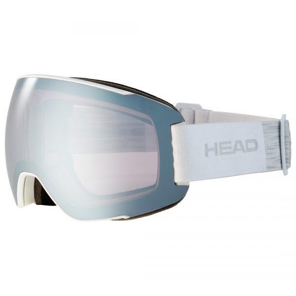 Gogle Head MAGNIFY 5K chrome white + Spare Lens 2022
